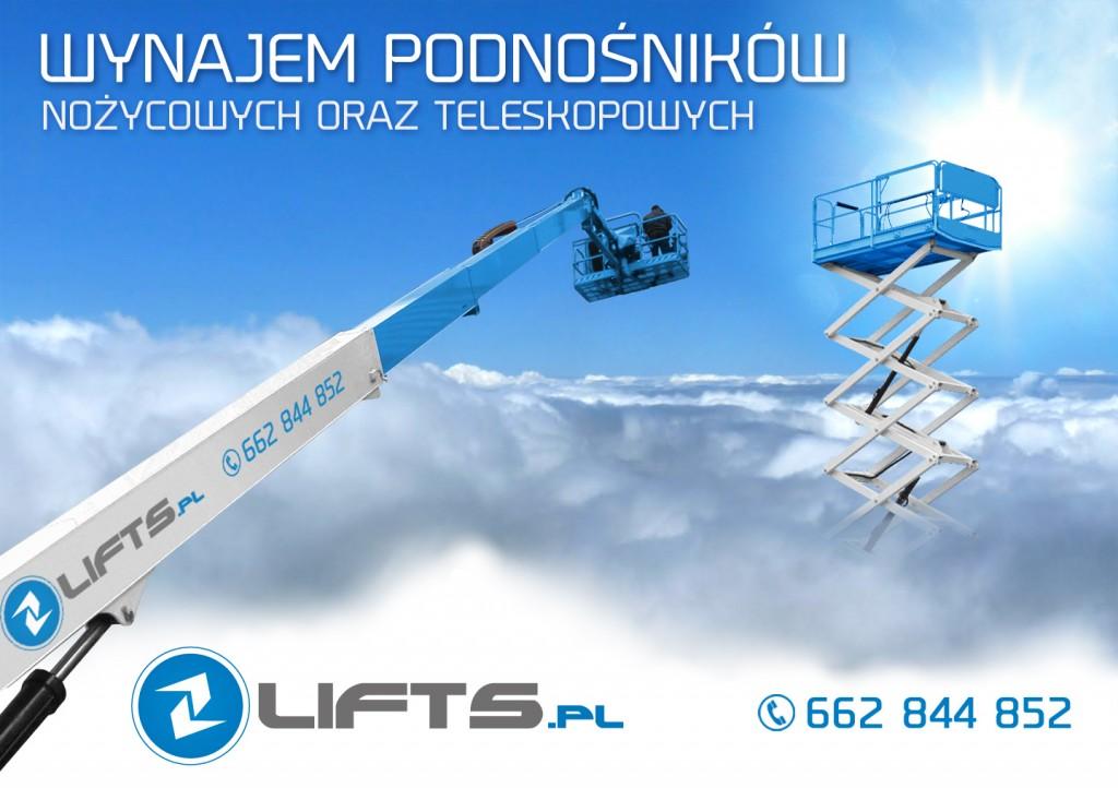 Galeria podnośników Lifts.pl podesty ruchome, zwyżki